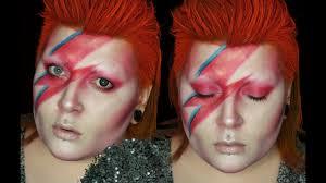 david bowie aladdin sane 1970s makeup tutorial