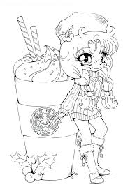 Coloring Pages Kawaii Coloring Pages Download For With Free Food