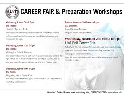 Prepare For The Fall Career Fair Uat Tech Official Blog Of The