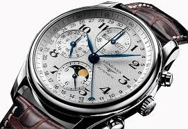 wrist watch wednesday longines master collection moon phase dial