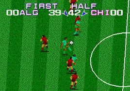 Tecmo World Cup (Mega Play) (Mame)