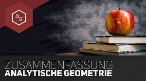 Analytische Geometrie Zusammenfassung F Rs Mathe Abi Tipps