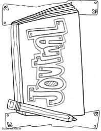 Writing Coloring Pages And Printables Classroom Doodles