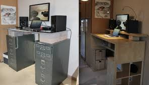 ... Innovative Stand Up Workstation Ikea Stand Up Desk Ikea Fun Home Sogden  ...