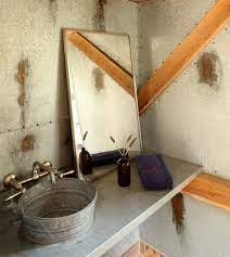 steel bucket bathroom sinks atticmag
