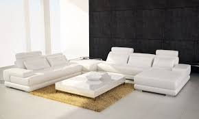 Contemporary Leather Sectional Collins Leather Sectionals