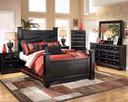 Ashley Furniture Bedroom Sets Poster Bedroom Set In Black