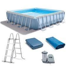 square above ground pool. Intex 16\u0027 X 42\ Square Above Ground Pool B