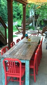 best finish for outdoor table fresh what is the