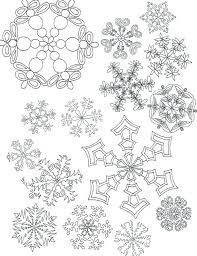 Printable Snowflakes Free Printable Snowflake Patterns