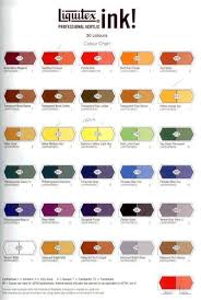 Fw Inks Colour Chart Liquitex Ink Color Chart Google Search In 2019 Liquitex