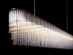 tom lighting. Contemporary Chandelier / Glass LED - LINEAR Tom Kirk Lighting