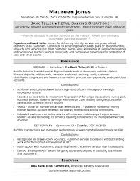 Bank Teller Resume Sample Monster Us Resume Template Best Cover