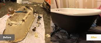 clawfoot tub refinishing
