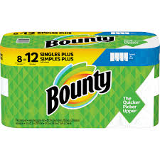 Bounty Roll Size Chart Procter Gamble Bounty Select A Size Paper Towels 2 Ply White Perforated Durable Absorbent For Kitchen 8 Carton