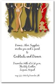 Formal Christmas Party Invitations Legs Formal Holiday Invitations