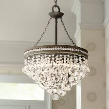 regina olive bronze 19 wide crystal chandelier gallery 16 of 20