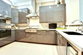 glossy kitchen cabinets cabinet kitchen painting modern high gloss paint best for cabinets white gloss kitchen