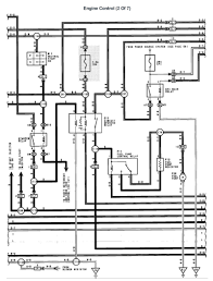 lexus v8 1uzfe wiring diagrams for lexus ls400 1992 engine engine control 2 of 7 page 001