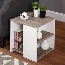 Walmart Furniture Living Room Walmart Living Room Furniture Langley Bay End Table Soft Painted