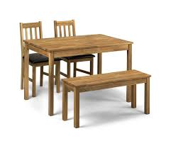 small dining table for 2. Coxmoor Rectangular Table + 2 Chairs And A Bench - Dining Sets Room Small For