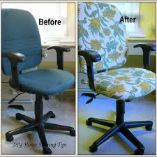 office chair makeover. An Easy Way To Dress Up The Ordinary Office Chair Makeover F