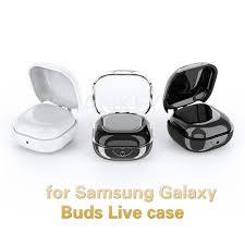 SAMSUNG Vỏ Bảo Vệ Hộp Đựng Tai Nghe Airpods Bằng Tpu Mềm Trong Suốt Chống  Rơi Cho Samsung Galaxy Buds Live