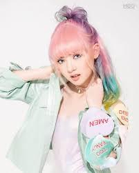 25 สไตลทรงผม พลอยชมพ สผม Rainbow Hair สวยแบว แนวระดบ