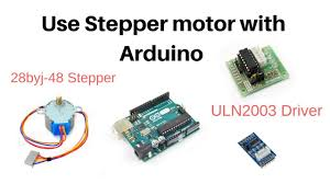 how to use stepper motor with arduino and uln2003 driver
