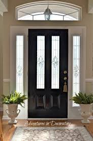 black front doorBest 25 Black entry doors ideas on Pinterest  Painted storm door
