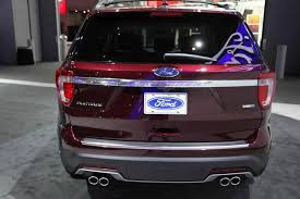2018 ford explorer. fine 2018 2018 ford explorer new york auto show featured image large thumb4 and ford explorer