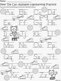 65bad5021b01d435f52600cdcd3aaea5 free pete the cat writing practice kindergarten reading on alphabet handwriting worksheets
