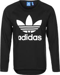 adidas long sleeve. adidas trefoil raglan longsleeve black white long sleeve r