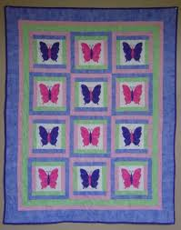 Baby Quilt PATTERN Girl PDF Butterfly Quilt Throw & Baby Quilt PATTERN - Girl - PDF - Butterfly Quilt - Throw quilt- Baby quilt  - girl Adamdwight.com