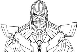 Fortnite Coloring Pages Thanos Coloringpagebase Coloring Pages