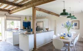 Open Plan Kitchen And Dining Room DesignsContemporary Open Plan Kitchen Living Room