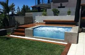 above ground spa built in above ground pool decks and designs above ground hot tub built