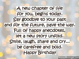 New Chapter In Life Quotes Interesting A New Chapter Of Life For You Begins Today Say Goodbye To Your