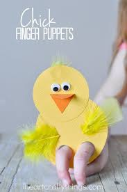 how to make adorable finger puppets