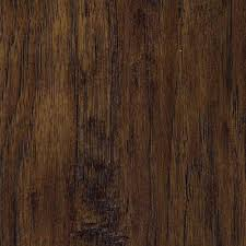 trafficmaster russet hickory 7 mm thick x 7 2 3 in wide x 50 5 8 in length laminate flooring 24 17 sq ft case 45109 the