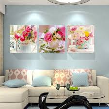 beauty flowers canvas prints home decor