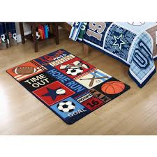 inspirational football rugs for kids rooms in area with cool surya carpets large rug washable colorful and mats modern wool brown fabulous size of