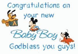 Congratulations For A Baby Boy Congrats Congratulations On Your New Baby Boy Gif Congrats Congratulationsonyournewbabyboy Sparkle Discover Share Gifs