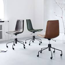 office chair images. Slope Leather Swivel Office Chair Images