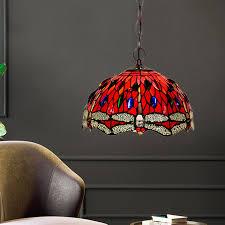 dragonfly ceiling pendant light