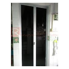 aluminium bathroom door malaysia. aluminium toilet bi-fold door replacement for hdb bto and resale flat bathroom malaysia n