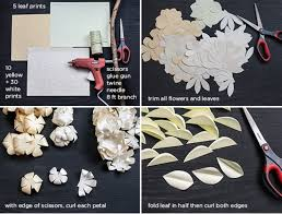 Paper Flower Backdrop Garland Picture Of Sweet Diy Cascading Paper Garland As A Perfect Wedding