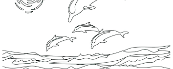 Coloring Page Dolphin Dolphin Coloring Pages Coloring Page Dolphin