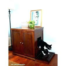 furniture to hide litter box. Hidden Litter Box Furniture Cat Bench Enclosure Cool To Hide