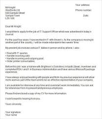 Cover Letters Examples Uk 6 Examples Of Cover Letters With Salary